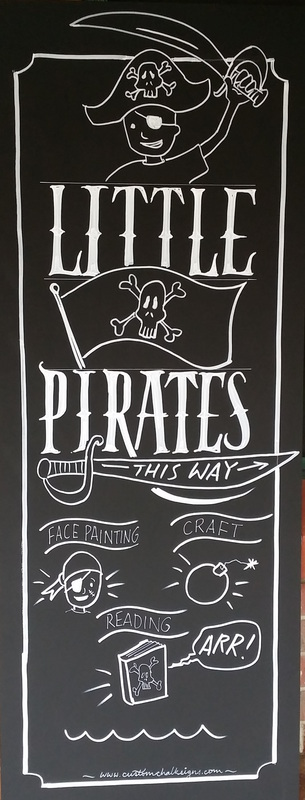 pirate chalk sign adelaide